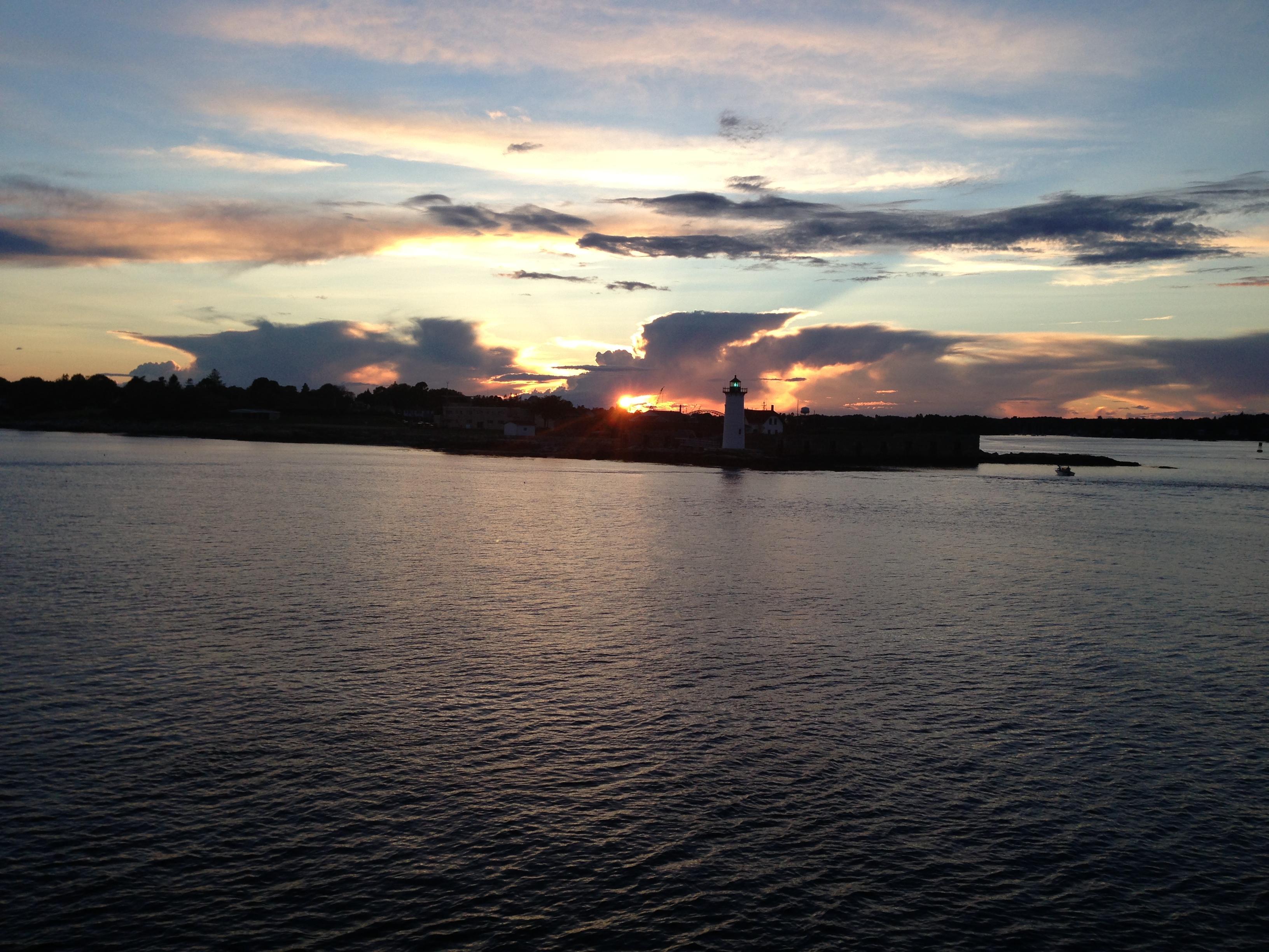 Sunset Harbor Cruise Image