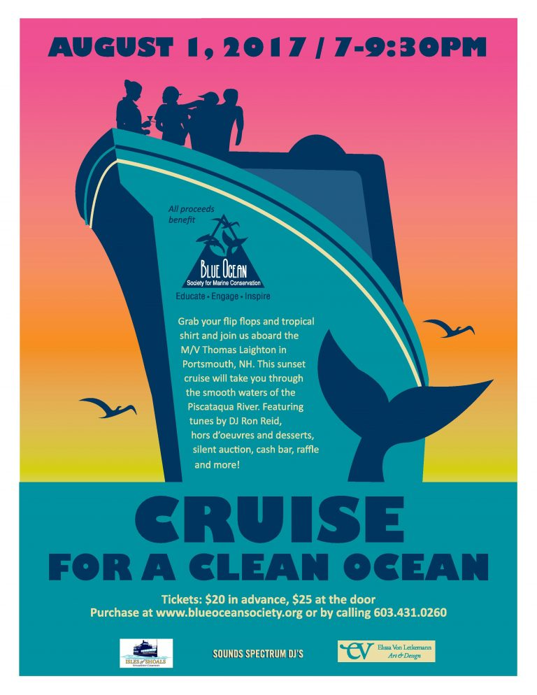 Cruise for a Clean Ocean with Blue Ocean Society  Image