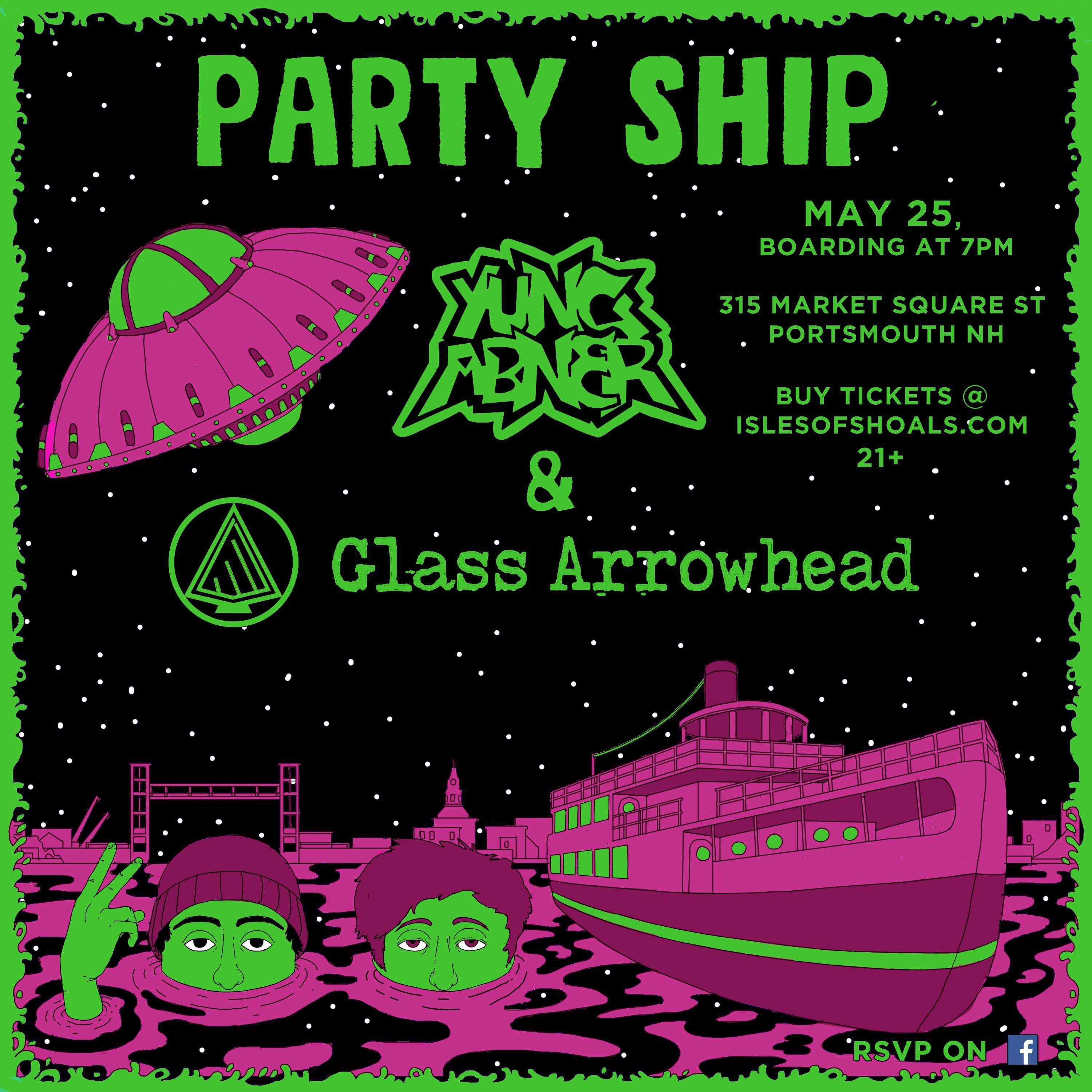 Party Ship w/  Yung Abner and Glass Arrowhead Image